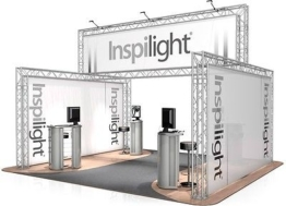 Messestand FD 24 Traversen - 4 x 5 x 2,5m - 20 m²