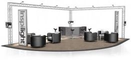 Messestand FD 24 Traversen  - 8 x 6 x 3 - 48 m²