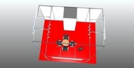 System  Messestand 4m x 5m  -   Verkaufstand Kopfstand