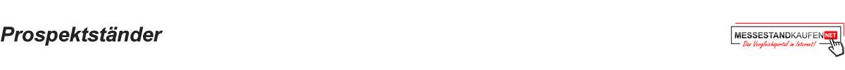 Prospektständer Logo